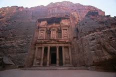 Grand Treasury Of Petra Mural Wallpaper