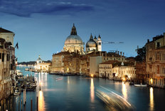 Night In Grand Canal Wallpaper Mural