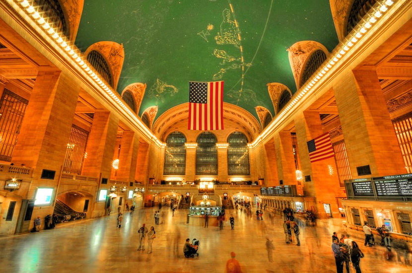 Grand Central Wall Mural