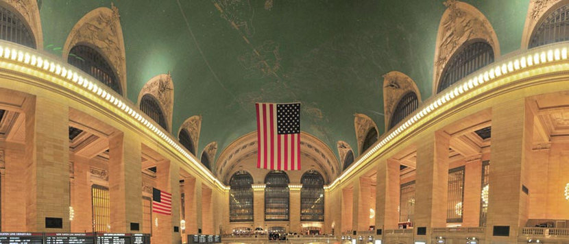 Grand Central - Panorama Wall Mural