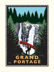 Grand Portage Wall Mural