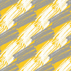 Gray And Yellow Pencil Pattern Wallpaper