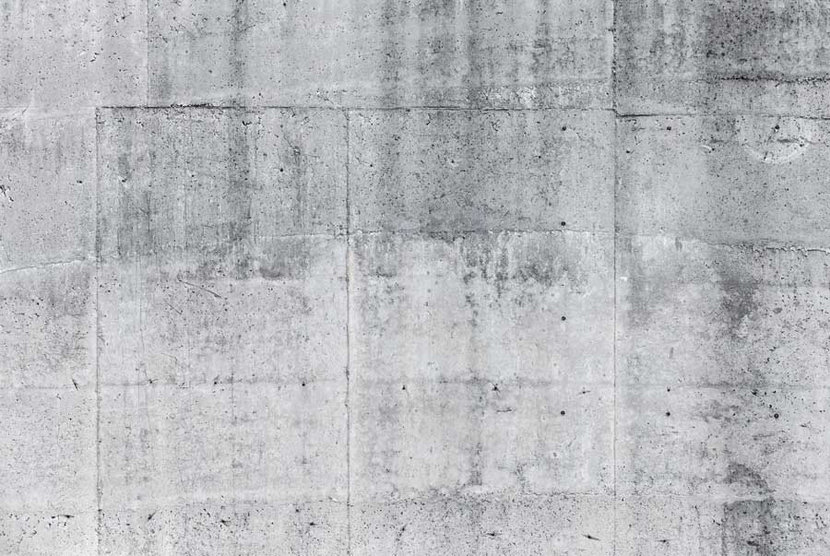 Gray Concrete Wall Background Wallpaper Mural