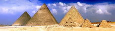 Great Pyramids Of Giza Egypt Wall Mural