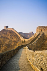 Great Wall of China Sunrise Wallpaper Mural