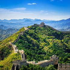 Great Wall of China Summer Wall Mural