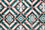 Green And Pink Tile