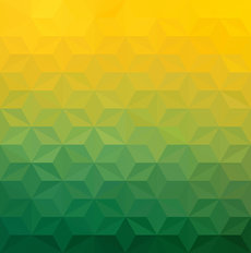 Green And Yellow Gradient Wall Mural