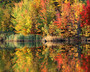 Green Mountain Pond Wall Mural