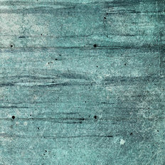 Grunge Blue Wall Texture Wallpaper Mural