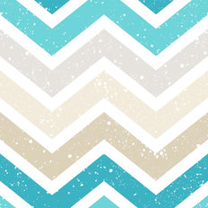 Grunge Chevron Pattern Wallpaper