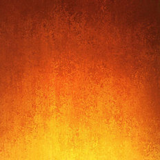 Grunge Orange Ombre Mural Wallpaper