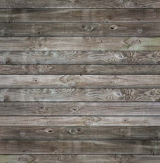 Ash Grey Weathered Wood Panels Wallpaper Mural