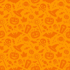 Halloween Festivities Pattern Wallpaper