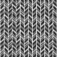 Hand Drawn Chevron Wallpaper