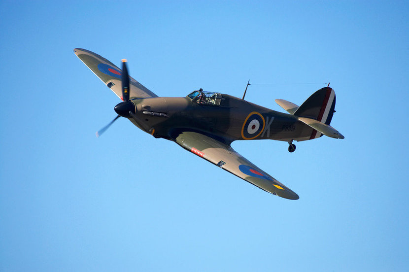Hawker Hurricane Mural Wallpaper