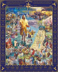 Healings Of Jesus Mural Wallpaper