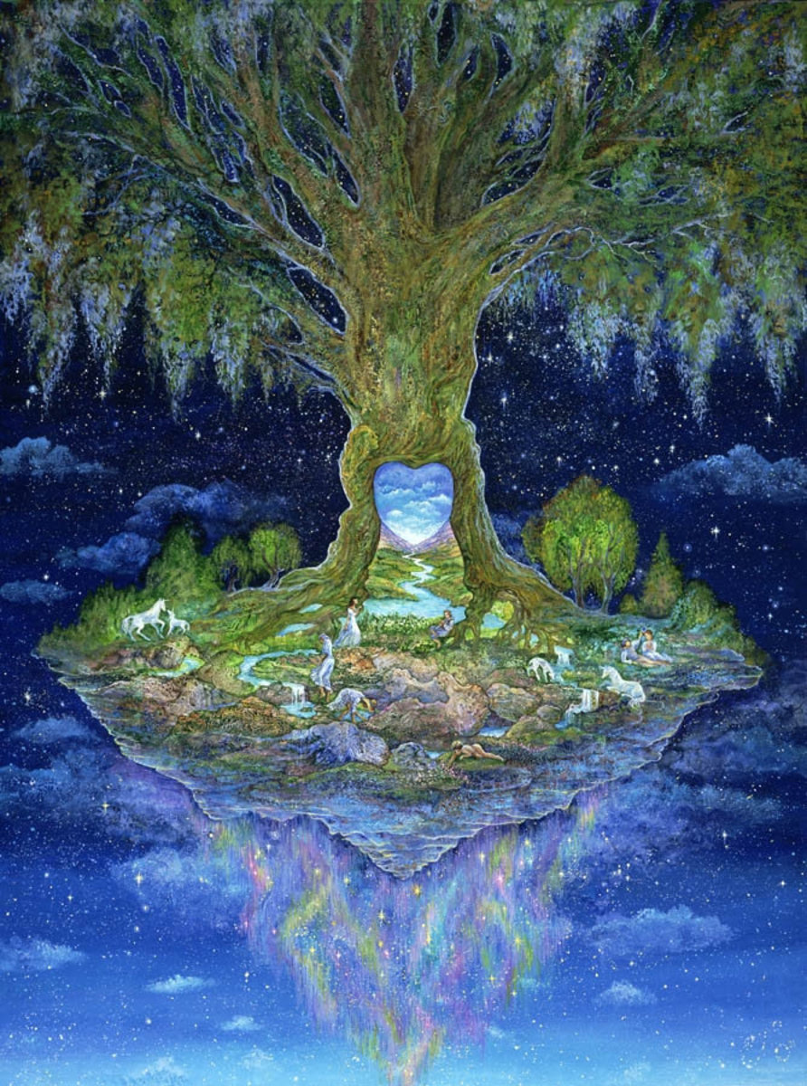 Heart of the Tree Wall Mural