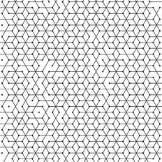 Hexagonal Cells Pattern Wallpaper