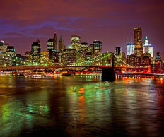 New York Reflections Wall Mural