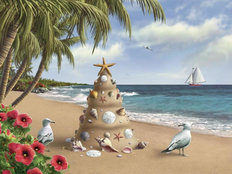 Holiday In Paradise Wallpaper Mural