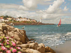 Home By The Sea Wall Mural