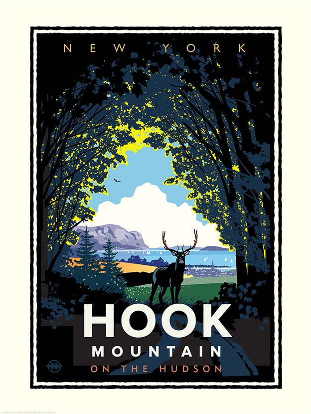 Hook Mountain On The Hudson Wallpaper Mural