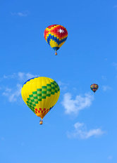 Hot Air Balloons Mural Wallpaper