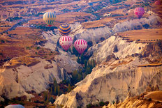 Hot Air Balloons Cappadocia, Turkey Wall Mural
