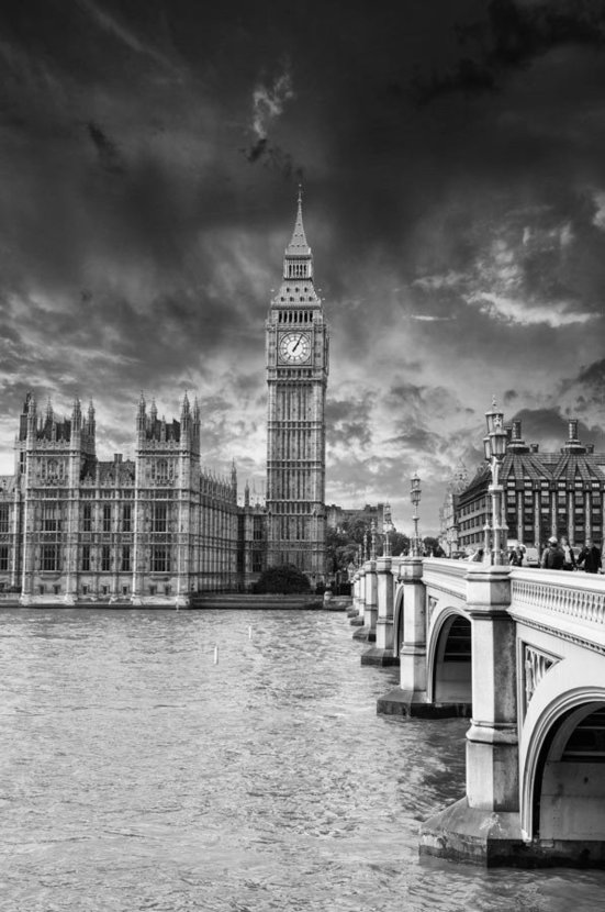 Houses of Parliament Wall Mural