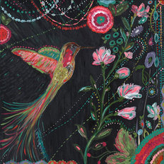 Humming Bird Mardi Gras Wallpaper Mural