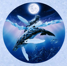 Humpback Lullaby Wall Mural