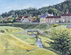 Hutton Le Hole Wall Mural