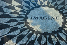 Imagine Mosaic Wallpaper Mural