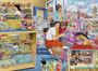 In The Toy Shop Wallpaper Mural