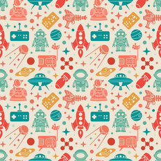 Intergalactic Pattern Wallpaper