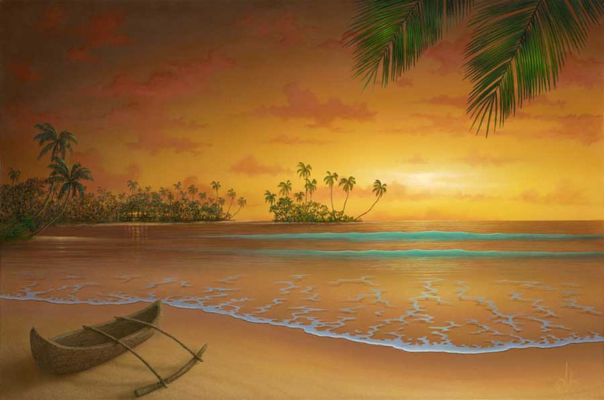 Island Passion Wall Mural