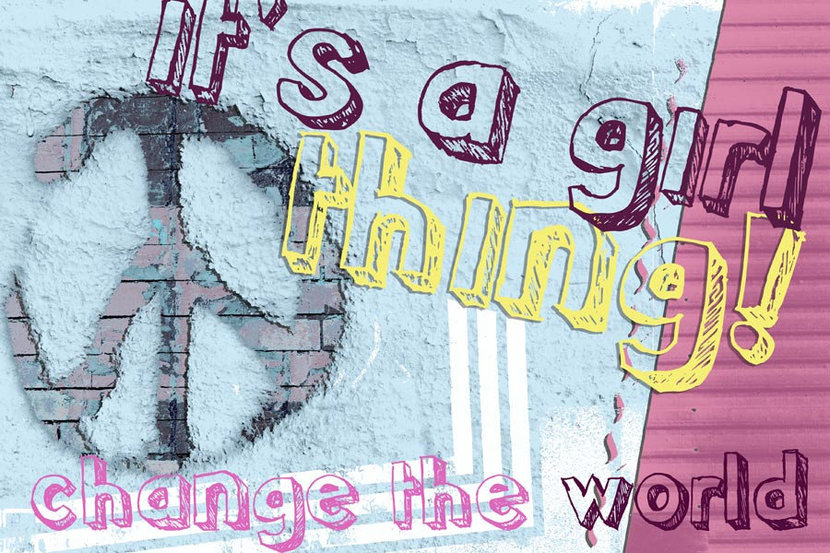 It's A Girl Thing Wall Mural