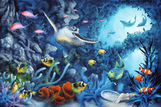 Jewels Of The Sea Wallpaper Mural
