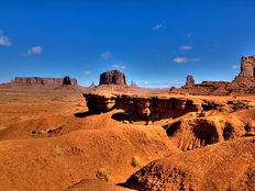 John Ford Point, Monument Valley Wallpaper Mural