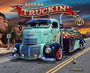 Keep On Truckin' On Route 66 Wall Mural