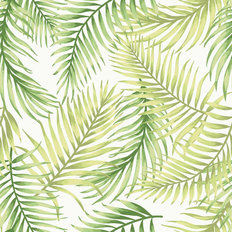 Kokomo Leaf Pattern Wallpaper