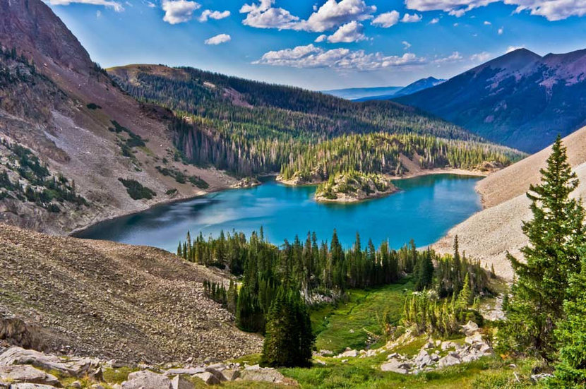 Lake Agnes, Colorado Forest State Park Wall Mural