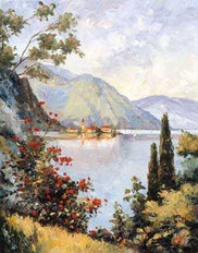 Lake Como (Zaccheo) Mural Wallpaper
