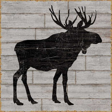 Lake Lodge I Mural Wallpaper