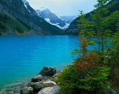 Lake Louise, Banff National Park, Alberta, Canada Wallpaper Mural