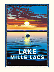 Lake Mille Lacs Wallpaper Mural