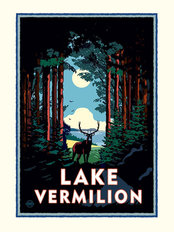 Lake Vermilion Mural Wallpaper