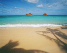Lanikai Beach Mural Wallpaper