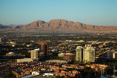 Las Vegas and Frenchman Mountain Wallpaper Mural